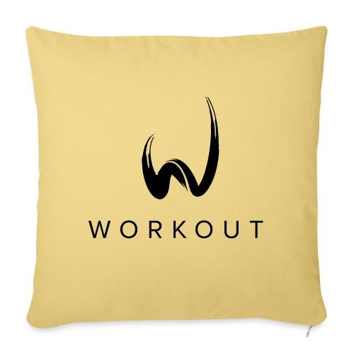 Workout - Sofakissenbezug 44 x 44 cm