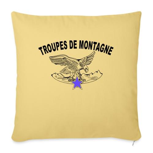 choucasTDM dos - Housse de coussin décorative 45x 45cm