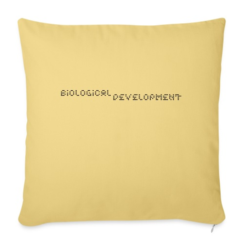 bio dev - Sofa pillowcase 17,3'' x 17,3'' (45 x 45 cm)