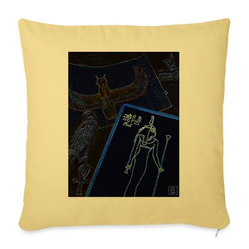 La Legge di Maat - Copricuscino per divano, 45 x 45 cm