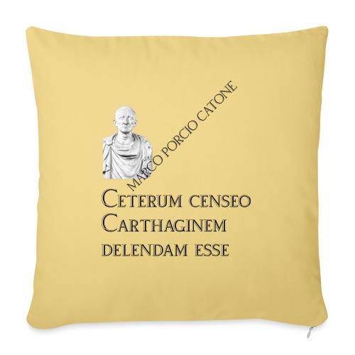Antica Roma Catone - Copricuscino per divano, 45 x 45 cm