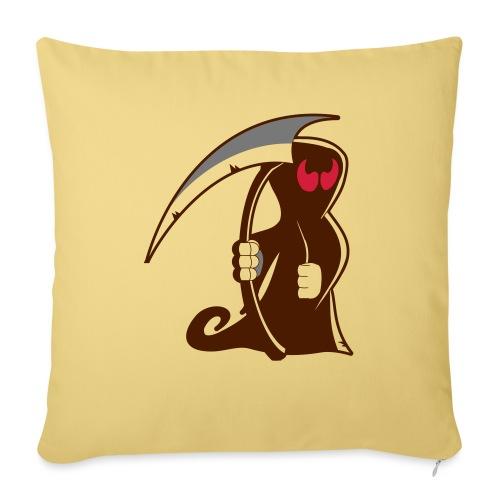 death - Copricuscino per divano, 45 x 45 cm