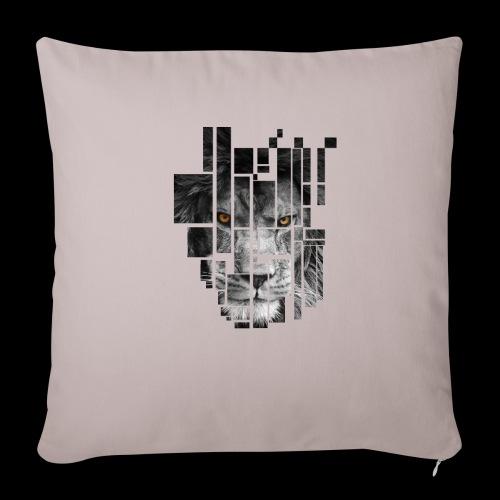 Pixel Lion Tattoo Inspire - Sofa pillowcase 17,3'' x 17,3'' (45 x 45 cm)