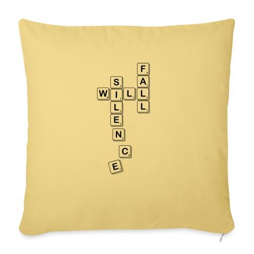 Silence Will Fall - Sofa pillowcase 17,3'' x 17,3'' (45 x 45 cm)