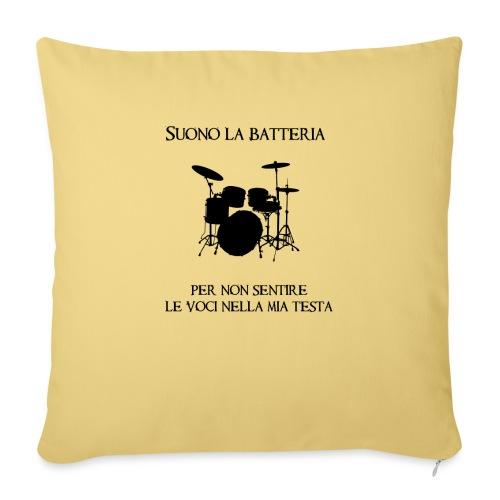 Batterista - Copricuscino per divano, 45 x 45 cm