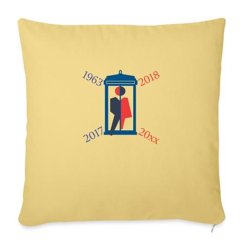 Mr or Ms Who - Sofa pillowcase 17,3'' x 17,3'' (45 x 45 cm)