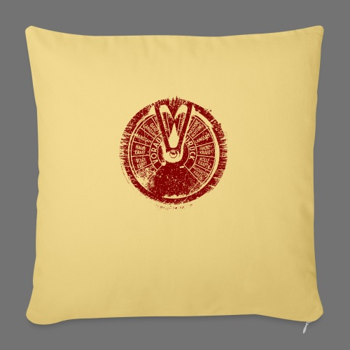 Maschinentelegraph (red oldstyle) - Sofa pillowcase 17,3'' x 17,3'' (45 x 45 cm)
