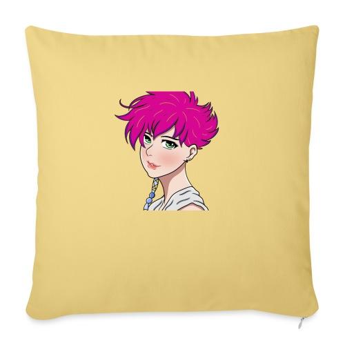 logo without name - Sofa pillowcase 17,3'' x 17,3'' (45 x 45 cm)