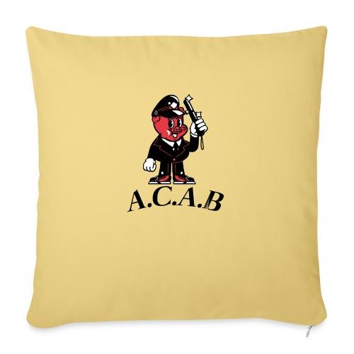 A.C.A.B cochon - Housse de coussin décorative 45x 45cm