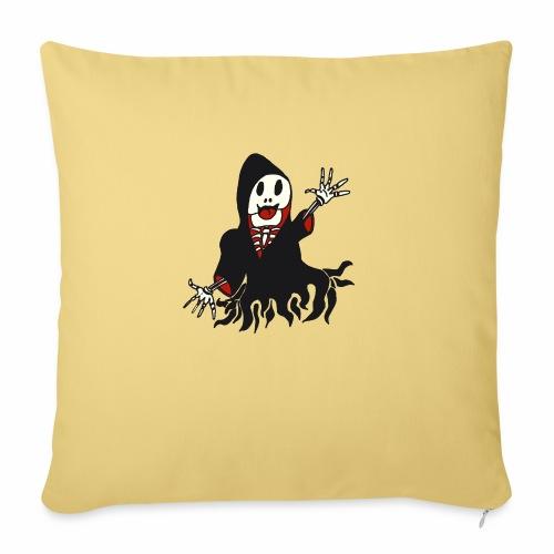 grim reaper funny style - Housse de coussin décorative 45x 45cm