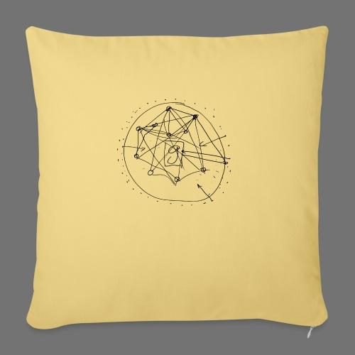 SEO Strategy No.1 (black) - Sofa pillowcase 17,3'' x 17,3'' (45 x 45 cm)