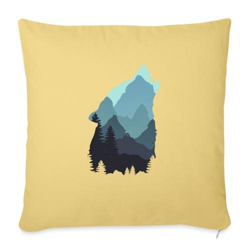 Wolf - Sofa pillowcase 17,3'' x 17,3'' (45 x 45 cm)