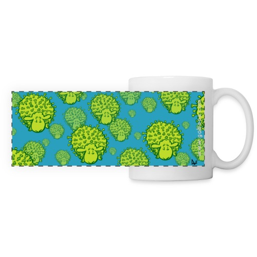 Virus Sheep Mug - Panoramic Mug
