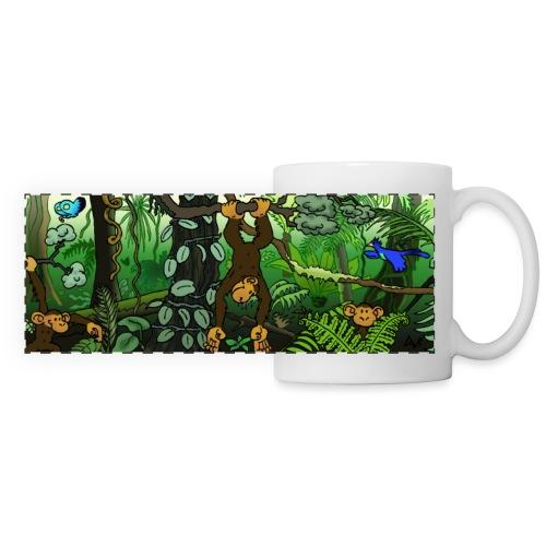Geh in den Dschungel! - Panoramatasse