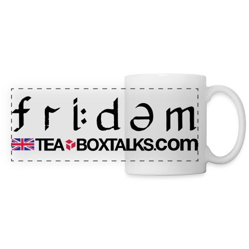 Freedom Phonemics 1 4 - Panoramic Mug