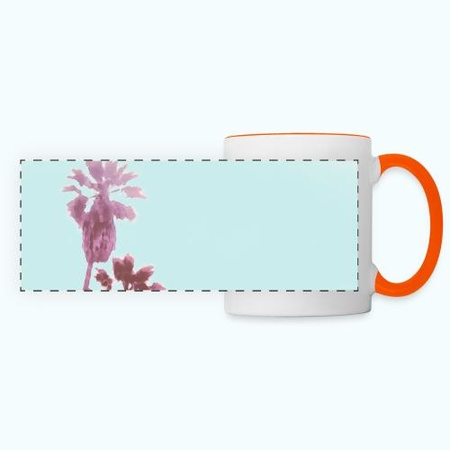 Pastel Beach Minimalism Modern - Panoramic Mug