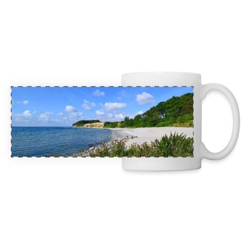 Traumstrand in der Karibik des Nordens - Panoramatasse