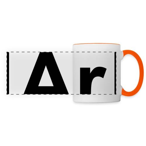 Argon (Ar) (element 18) - Panoramic Mug
