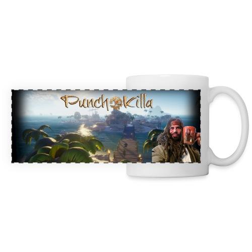 punchopirate - Mug panoramique contrasté et blanc