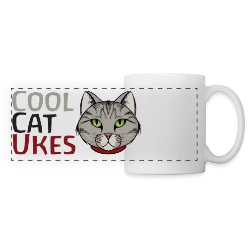 Cool Cat Ukes - Panoramic Mug