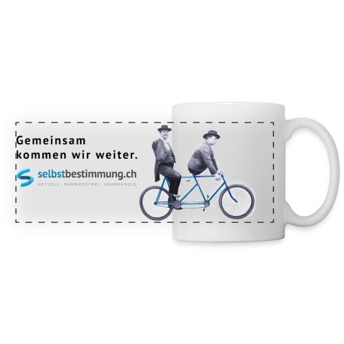 Gemeinsam weiterkommen - Panoramatasse