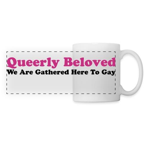 Queerly Beloved - Panoramic Mug