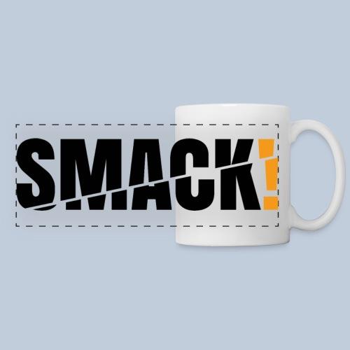 SMACK gross schwarz ohne Hintergrund - Panoramatasse