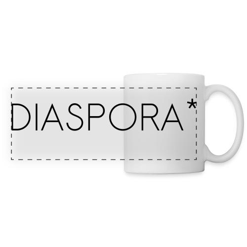diaspora_one_color2 - Panoramic Mug