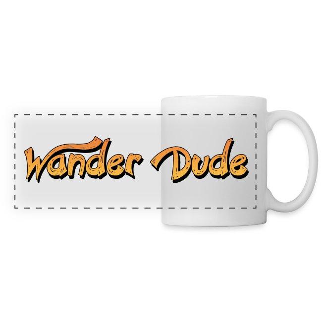 Wander Dude Schriftzug