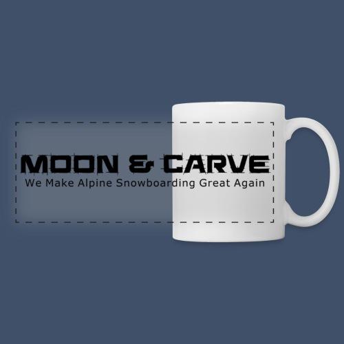 Moon & Carve black - Panoramatasse