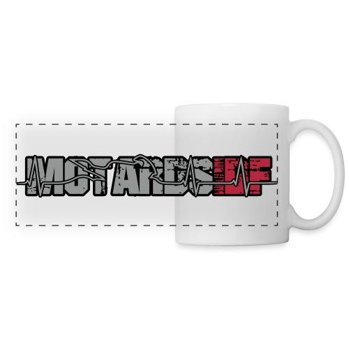 Logo MIDF 2 - Mug panoramique contrasté et blanc