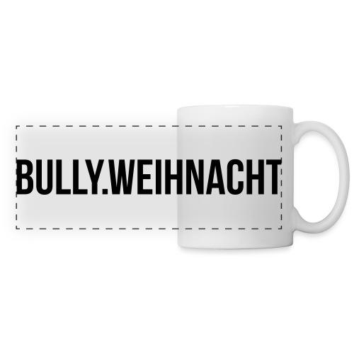 Französische Bulldogge Weihnachten - Geschenk - Panoramatasse