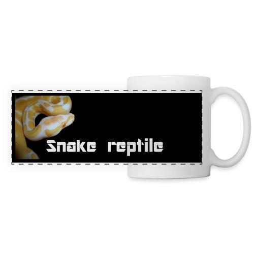 python albi 5000x2000 snake reptile jpg - Mug panoramique contrasté et blanc