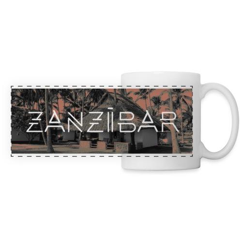 Zanzibar - Mug panoramique contrasté et blanc