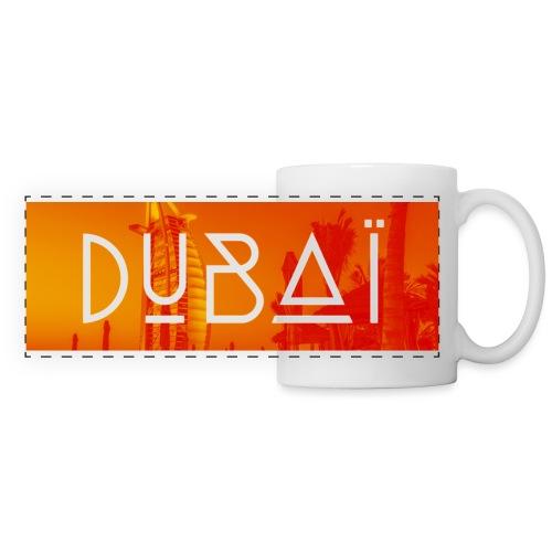 Dubaï - Mug panoramique contrasté et blanc