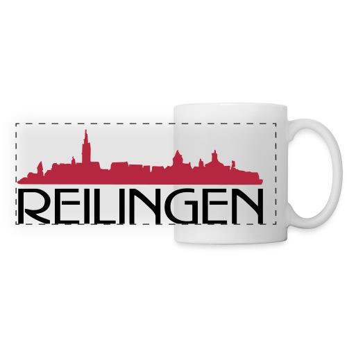 Reilinger Ortsshilhouette - Panoramatasse