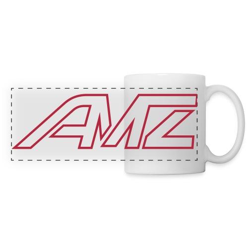 Logo AMZ rot schrift - Panoramatasse