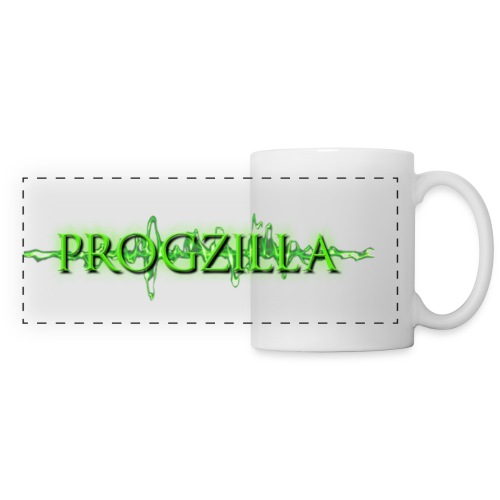 Progzilla FB Banner large png - Panoramic Mug
