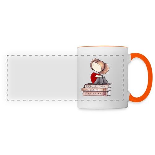 RealityDiesBookPrint png - Panoramic Mug