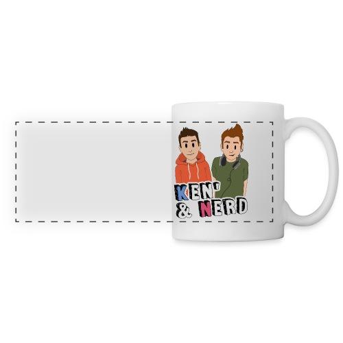 Ken' & Nerd - Mug panoramique contrasté et blanc