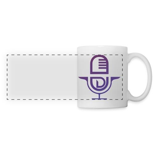 logo tee shirt png - Mug panoramique contrasté et blanc