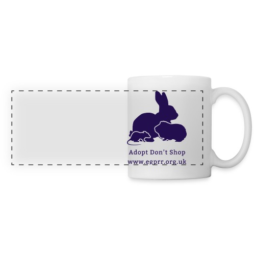 Adopt Don t Shop Dark - Panoramic Mug