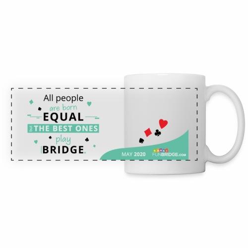 May Funbridge Collector's Mug - Mug panoramique contrasté et blanc