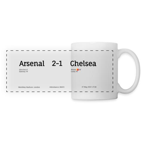 2-1 Chelsea (FA C - Panoramic Mug
