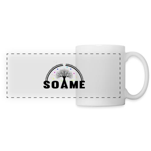 SOAME - Logo-500 - Mug panoramique contrasté et blanc