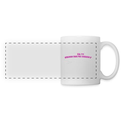 logo tee shirt - Mug panoramique contrasté et blanc