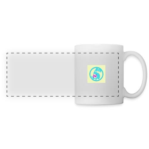 Logo de la chaine - Mug panoramique contrasté et blanc