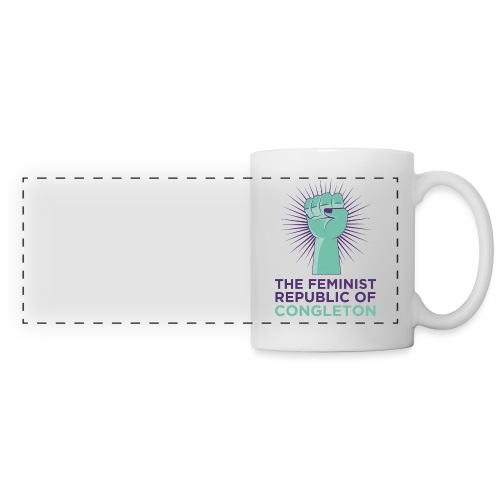 congleton_tshirt_front_ar - Panoramic Mug