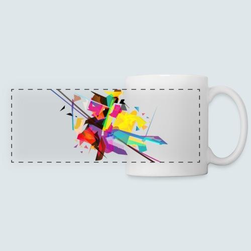 Farbenquadrat - Panoramatasse