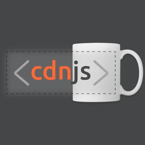 cdnjs Dark Logo (Accessories) - Panoramic Mug